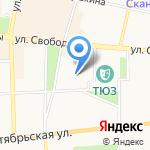 Детский сад №83 на карте Ярославля