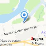 Автоворота Ярославль на карте Ярославля