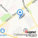 Городское Юридическое Бюро на карте Ярославля