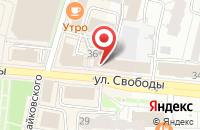 Схема проезда до компании КОФЕшка в Ярославле