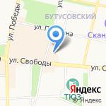 Инсемакс трейд на карте Ярославля