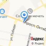 Продуктовый магазин на карте Ярославля
