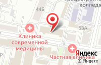Схема проезда до компании Мадикс в Ярославле