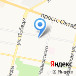 Химпромпроект на карте Ярославля