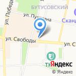 Парикмахерская на карте Ярославля