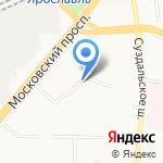 Детский квартал на карте Ярославля