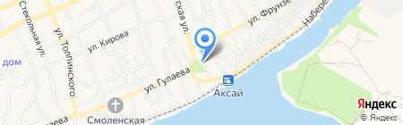 Управление социальной защиты населения Аксайского района на карте Аксая