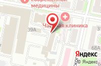 Схема проезда до компании Проф-Консалтинг в Ярославле