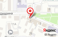 Схема проезда до компании Фортуна в Ярославле