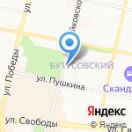 Институт проблем устойчивого развития городов и территорий на карте Ярославля