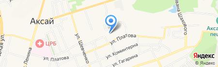 Аксайская газета на карте Аксая
