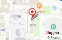 Схема проезда до компании Созвездие в Ярославле