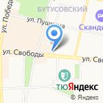 Табачная Империя на карте Ярославля