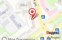 Схема проезда до компании WebStar в Ярославле