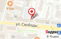 Схема проезда до компании Coffee Like в Ярославле