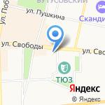 ЯРШИНА на карте Ярославля