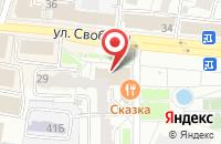 Схема проезда до компании KFC в Ярославле