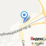 Скиф на карте Ярославля