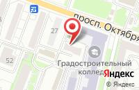 Схема проезда до компании Радиодетали в Ярославле