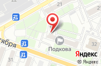 Схема проезда до компании Fresh праздник в Ярославле