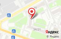 Схема проезда до компании Айрин в Ярославле