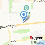 Город 2010 ИСК на карте Ярославля