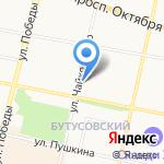 Кит на карте Ярославля