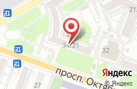 Схема проезда до компании Мансарда.Ру в Ярославле