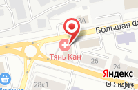 Схема проезда до компании Небо в Ярославле