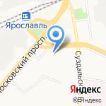 Отдел по вопросам миграции на карте Ярославля