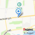 Артвис на карте Ярославля
