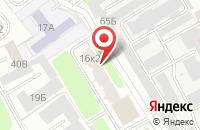 Схема проезда до компании ЯР в Ярославле