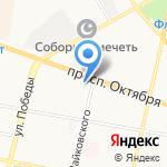 Федерация Киокусинкай на карте Ярославля