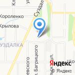Основная общеобразовательная школа №35 на карте Ярославля