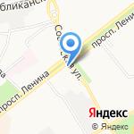 Альфа + на карте Ярославля