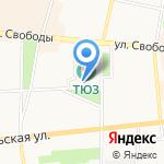 Прокуратура Кировского района на карте Ярославля