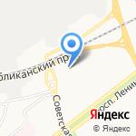 Аккорд на карте Ярославля