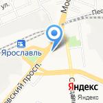 Качок на карте Ярославля