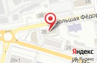 Схема проезда до компании Делюкс в Ярославле