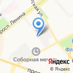 ЯР на карте Ярославля
