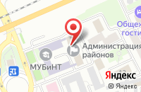 Схема проезда до компании Территориальный отдел по социальной поддержке населения Ленинского района в Ярославле