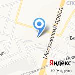 ЯР-презент на карте Ярославля