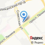 Детская клиническая больница №1 на карте Ярославля