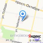 Специализированный дом ребенка №2 на карте Ярославля