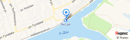 Банкомат КБ Центр-инвест на карте Аксая