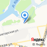 Евросфера на карте Ярославля