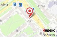 Схема проезда до компании Простые сложности в Ярославле