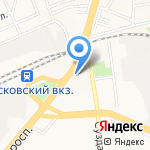 ПКП Волга на карте Ярославля