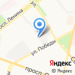 Байт-Форс на карте Ярославля