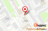 Схема проезда до компании Электронный регион в Ярославле